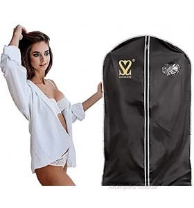 Luxussize Kleiderhülle Kleidersack Blusen- Hemden- Anzughülle 100 x 57,5 cm Staub- Wasserdicht mit Reißverschluss